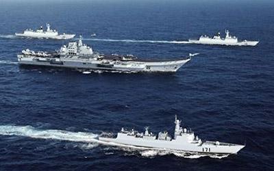 Portaaviones ruso y chino se dirige a venezuela..